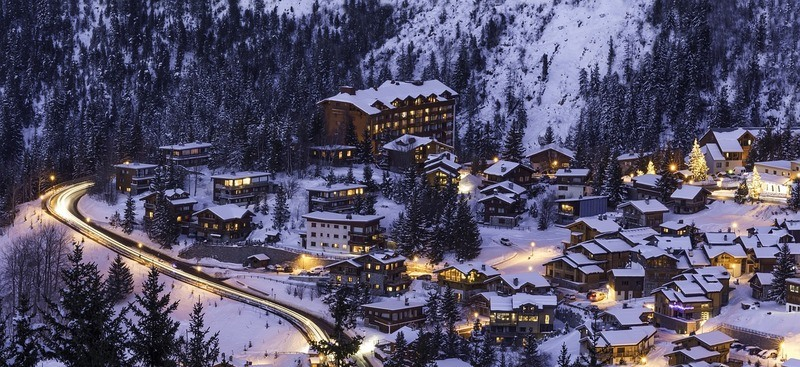 ski-resort-courchevel