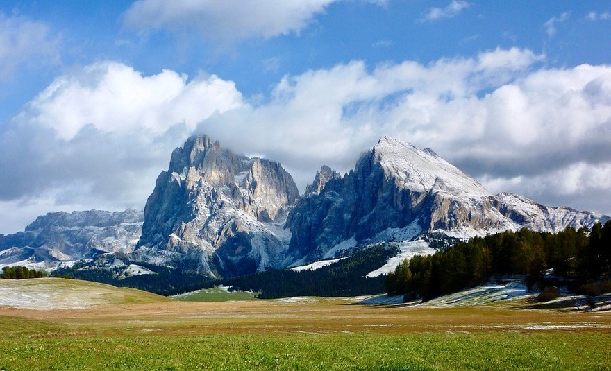 Dolomites meadow
