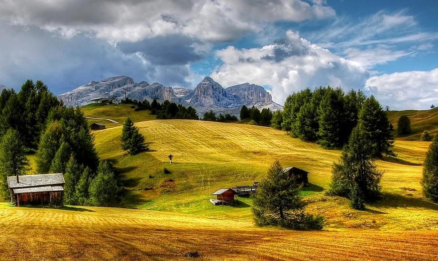 Dolomites refugio