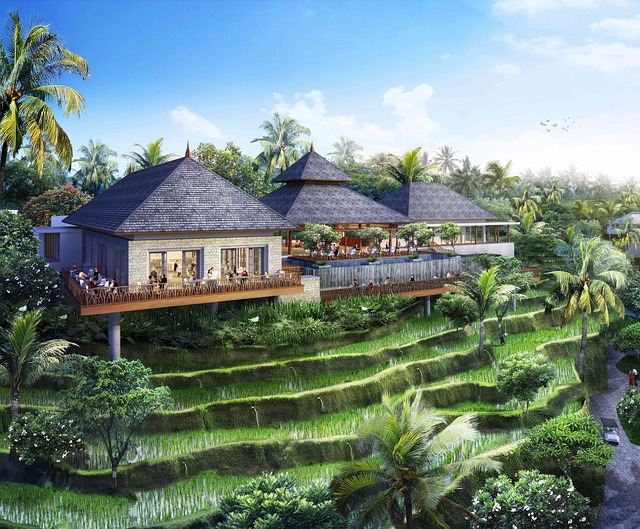 Bali-resort-with-rice-paddies