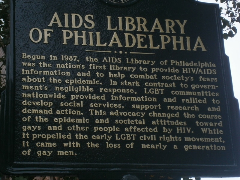 The AIDS Library of Philadelphia