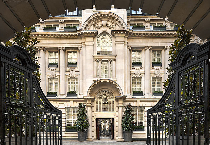 exterior-of-Rosewood-London-hotel