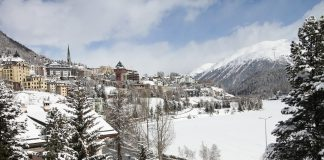 Ski Village in France