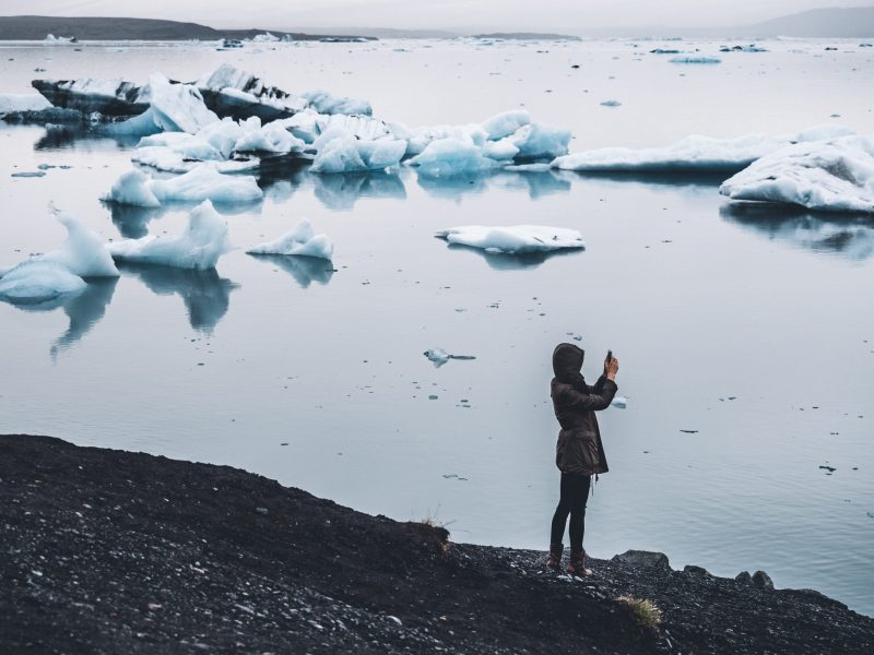Icy Waters in Iceland