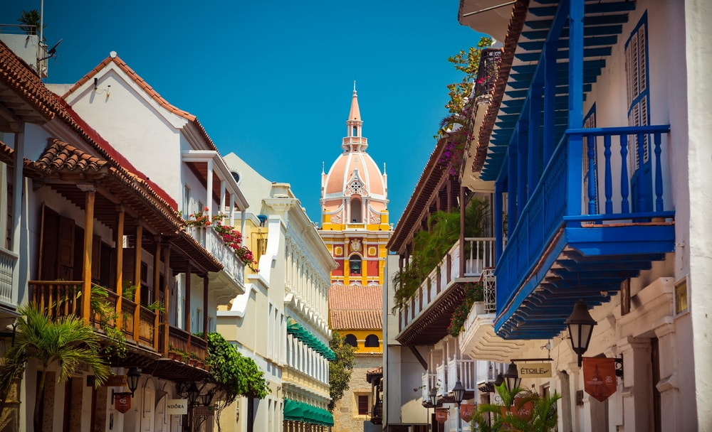 Cartagena-clock-tower