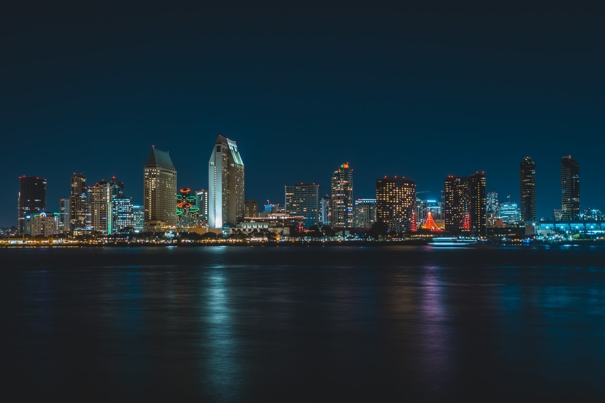 night-view-san-diego-city
