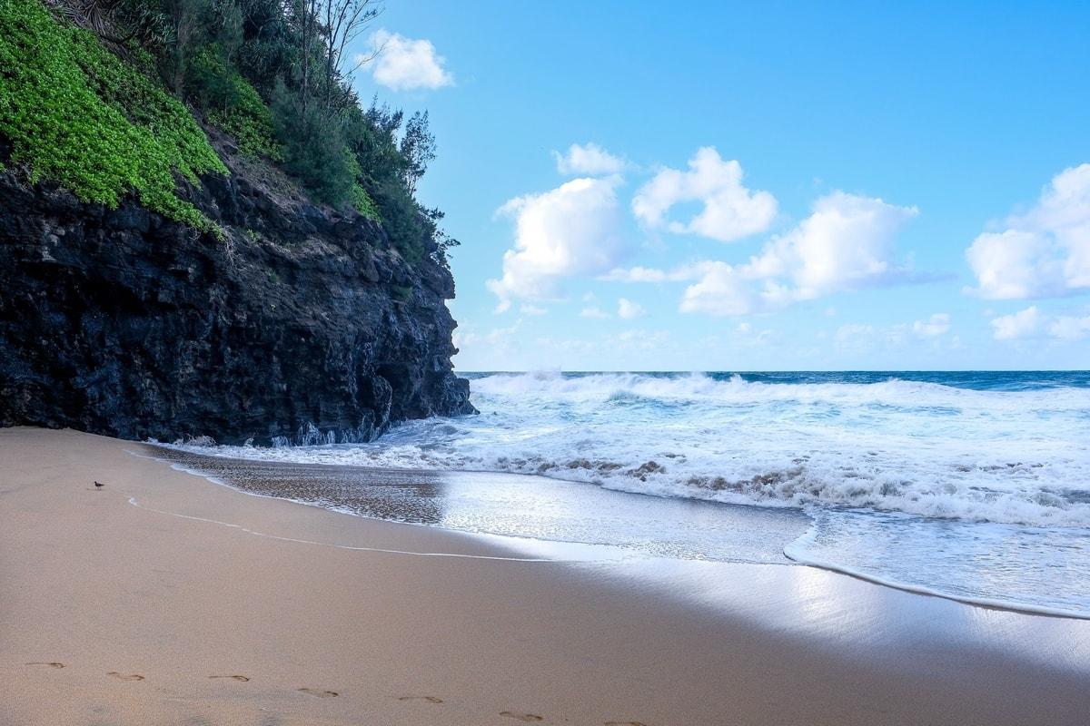 Kauai beach ocean shore