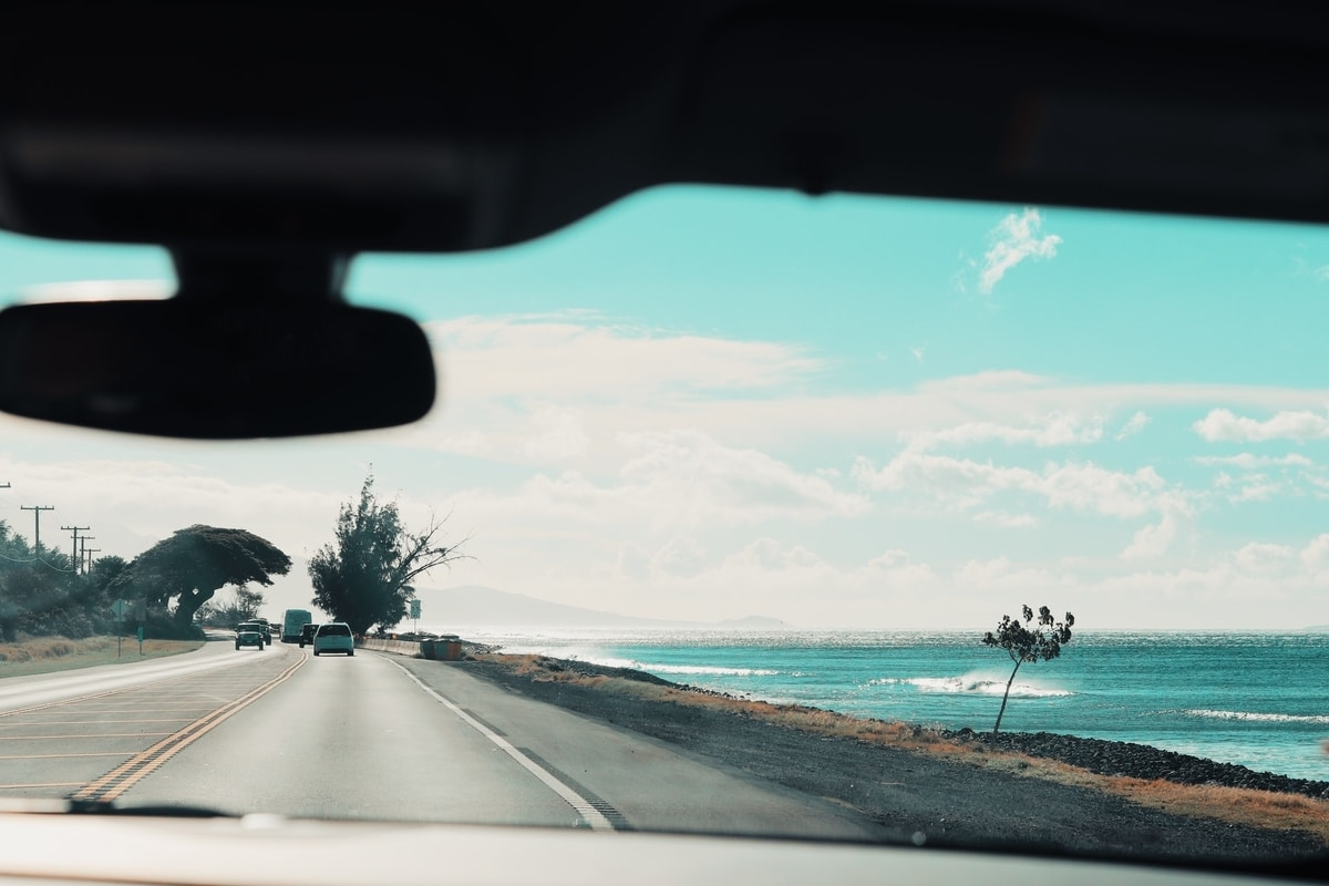 view-of-road-from-windshiels-inside-the-vehicle